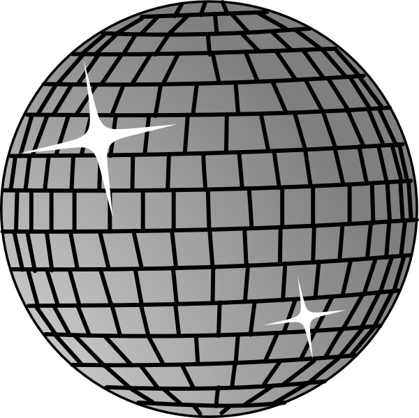 Disco Ball Clip Art · Download .