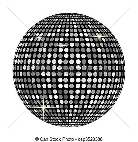 Disco Ball Stock Illustrationby ...