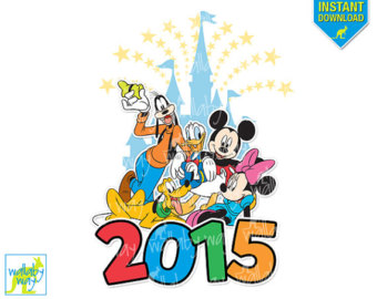 Disney 2015 Iron On Etsy