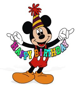 disney birthday clip art
