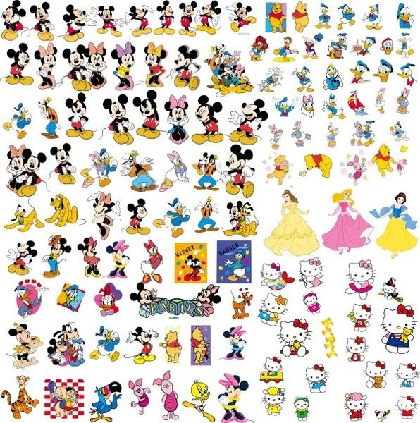 Disney Cartoon Clip Art .-disney cartoon clip art .-8
