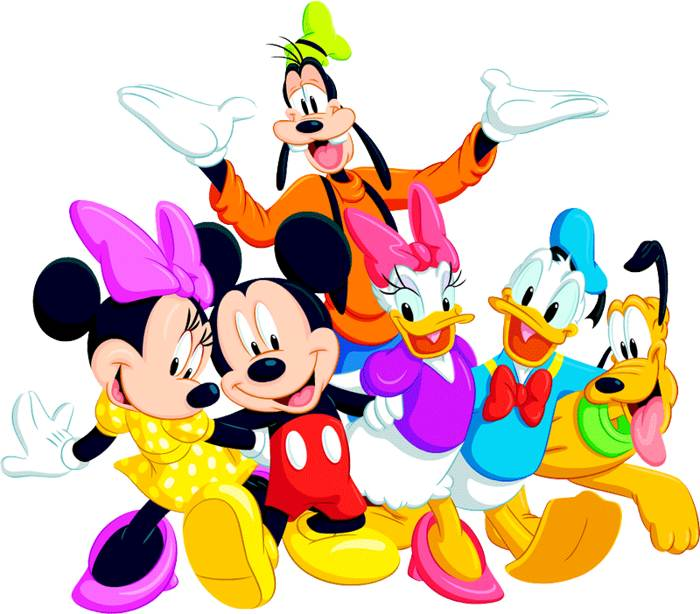 Disney Characters Clipart #1