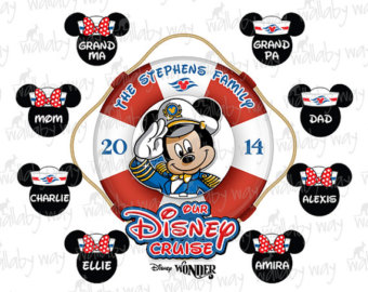 Disney Cruise Family Printable .