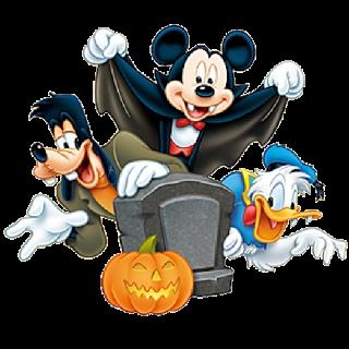 Disney Mickey Goofy And Donald Duck Halloween 2