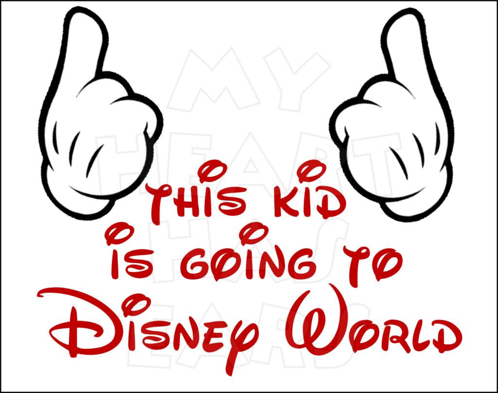 Disney World Instant Download Digital Clip Art My Heart Has Ears