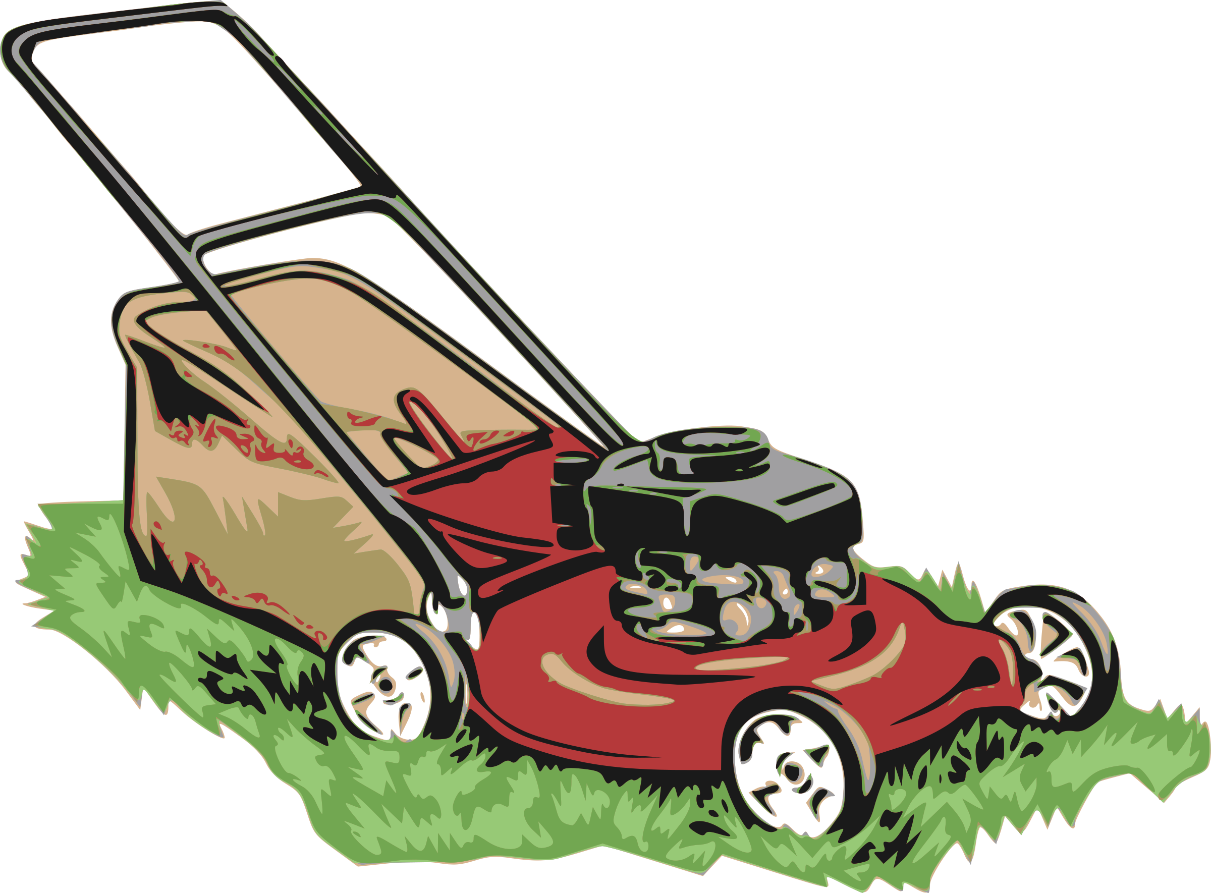 Lawn Mower Art Cliparts Co