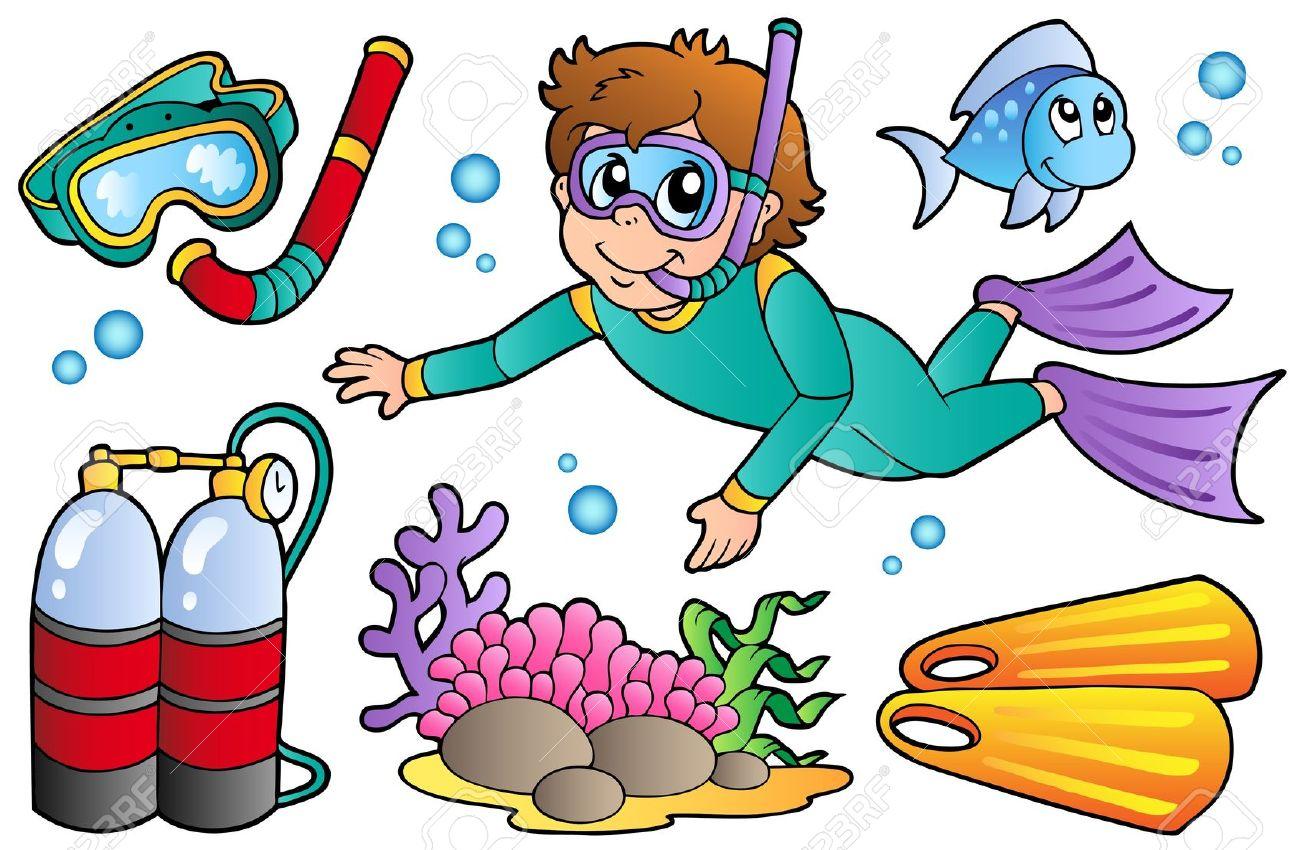 Diver Clip Art - Blogsbeta