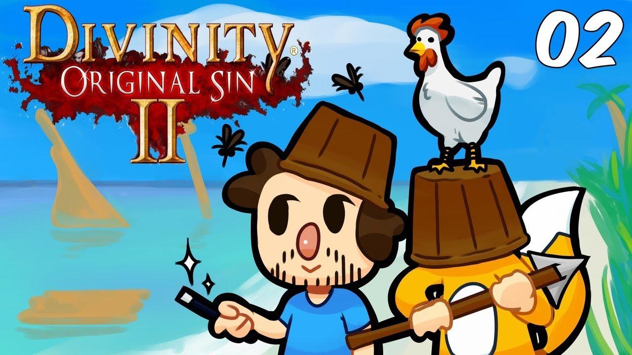 Foxman U0026 JSmithOTI Play: Divinity Or-Foxman u0026 JSmithOTI Play: Divinity Original Sin II - Ep. 2 - Ship Wreck-14