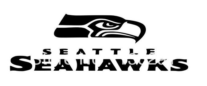 Diy Seattle Seahawks Vinyl Auto Car Window Stickers Poster Wall Decals