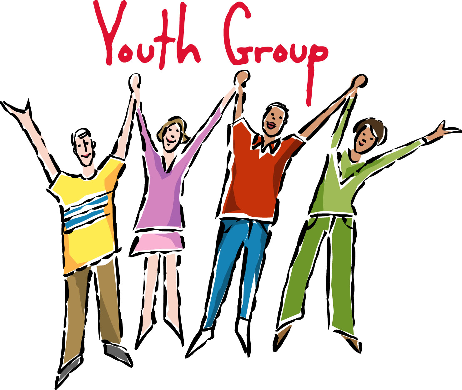 Do Not Say I Am Only A Youth  - Youth Group Clipart