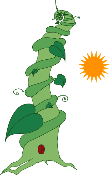 Do you like the story of Jack and the Beanstalk? This beanstalk clip art is inspired from that story. You can use this clip art for personal or commercial ...