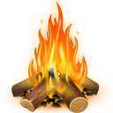 Do you need a bonfire clip art for use on your camping projects? You can use this bonfire clip art for commercial or personal use.