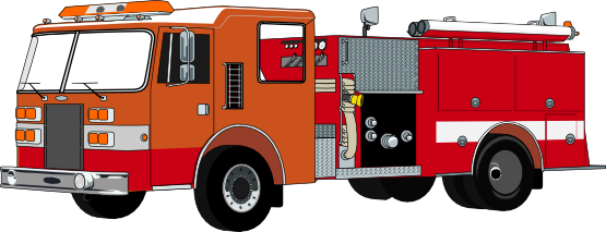 Do you need a fire truck clip art for use on your projects? You can use this fire truck clip art on your fire prevention projects, books, posters, ...