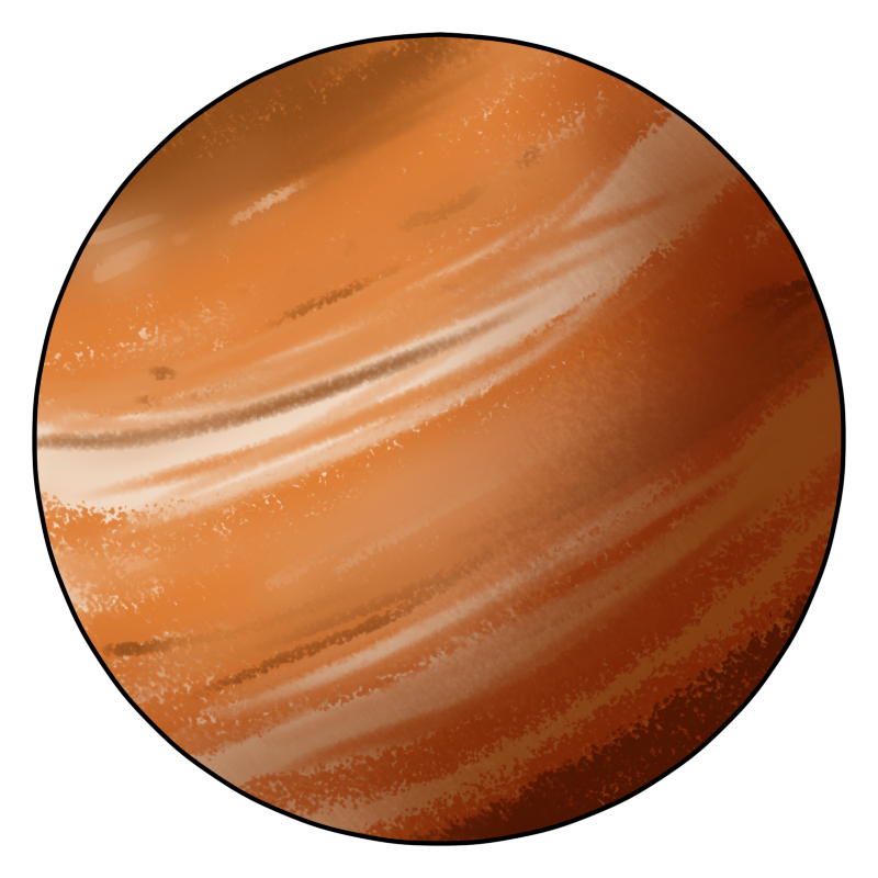 Do you need a planet Jupiter clip art for use on your projects? Search no more because you can use this planet Jupiter clip art on your astronomy projects, ...