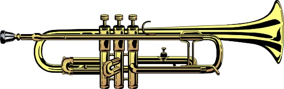 Do you need a realistic looking trumpet clip art for use on your music related projects