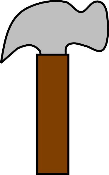 Do you need a simple hammer clip art for use on your projects? You can use this simple hammer clip art on whatever project that requires an image of a ...