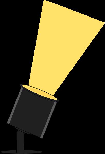 Spot Light Clip Art
