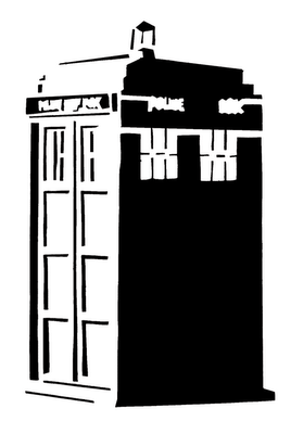 Doctor Who Stencil Silhouette Outline Cl-Doctor Who Stencil Silhouette Outline Clipart Mania!-18