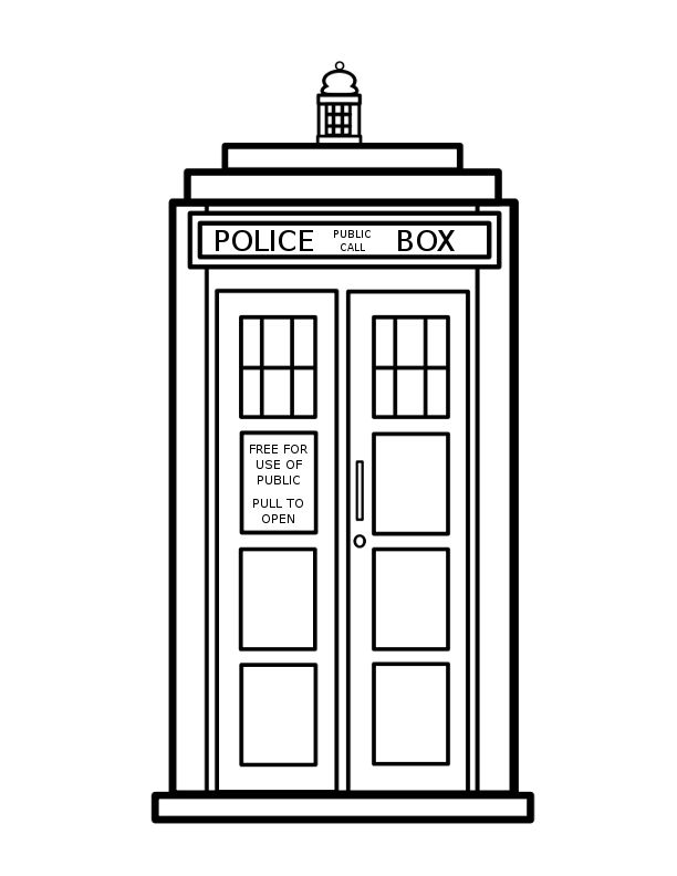 Doctor Who Tardis Clipart-Doctor Who Tardis Clipart-13