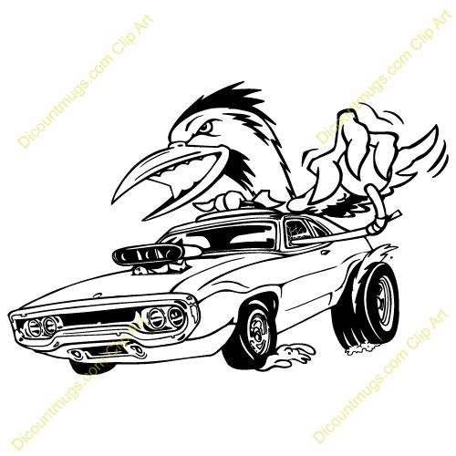 Challenger Clipart: Old Dodge Challenger-Challenger clipart: old dodge challenger dragster-7