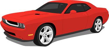 Dodge Challenger. A Vector .eps Illustra-Dodge Challenger. A Vector .eps illustration of an American Dodge Challenger  Muscle Car.-13