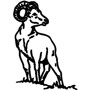 Dodge Ram Head Logo