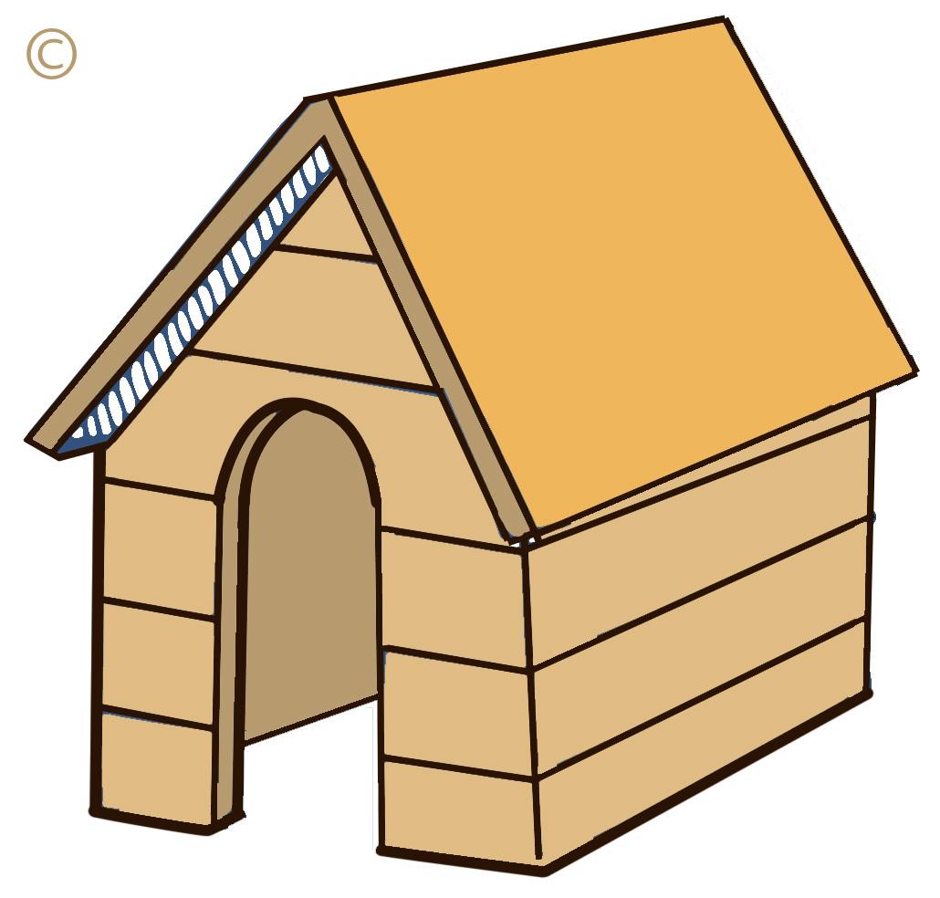Dog House Clipart Free-dog house clipart free-4