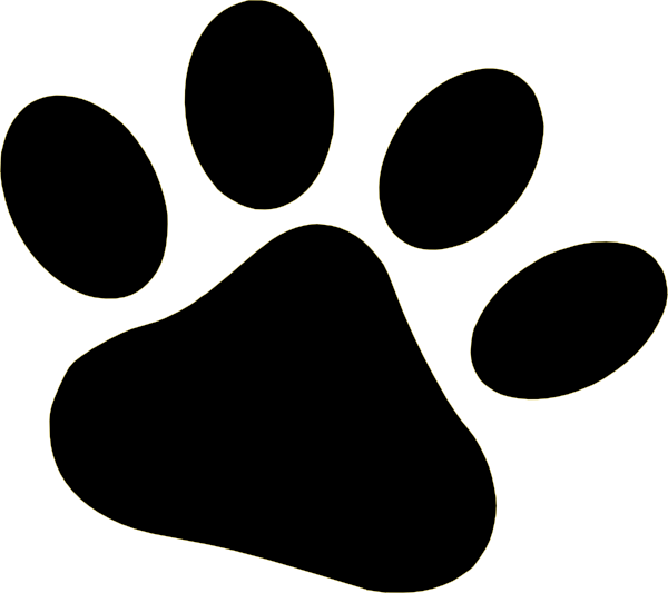 Dog Paw Clipart-dog paw clipart-8
