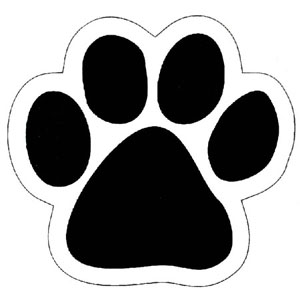 dog paw print clip art free download