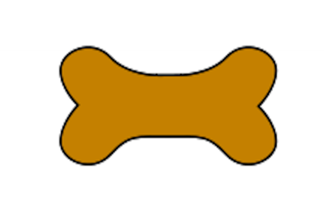 Dog Bone Chew Bone Clip Art ..