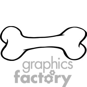 Dog Bone Clipart-dog bone clipart-6