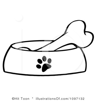 Dog Bone Clipart Royalty Free Dog Bone Clipart Illustration 1097132