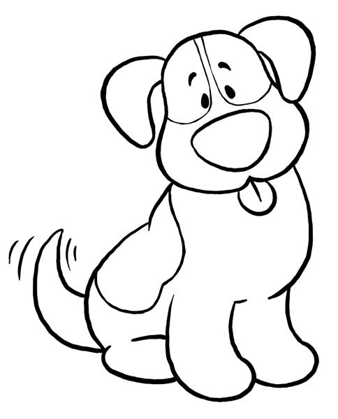 Dog Clipart Black And White .