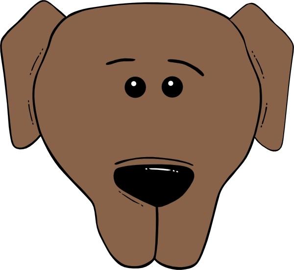 Dog Face Cartoon World Label clip art-Dog Face Cartoon World Label clip art-18