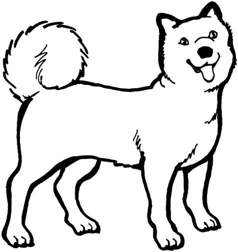 Dog Face Clip Art Black And ..