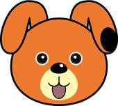 Dog Face clipart and illustrations-Dog Face clipart and illustrations-6