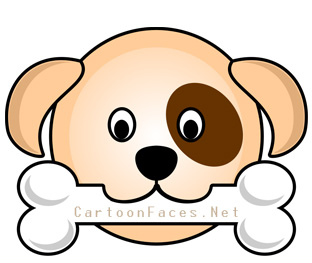 Dog Face Clipart - Getbellhop-Dog Face Clipart - Getbellhop-5