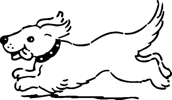 Dog For Coloring Clip Art .-Dog For Coloring clip art .-5