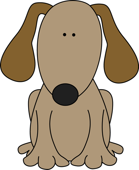 Dog For D Clip Art Image Cute Brown Dog -Dog For D Clip Art Image Cute Brown Dog With Floppy Ears Great For-17
