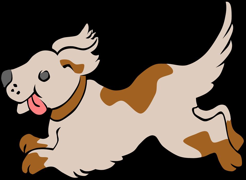 Dog Free Stock Photo Illustration Of A Running Dog 17482