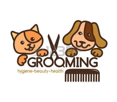 Dog Grooming: Creative, Rigorous Logo Gr-dog grooming: creative, rigorous logo Grooming pets.-8