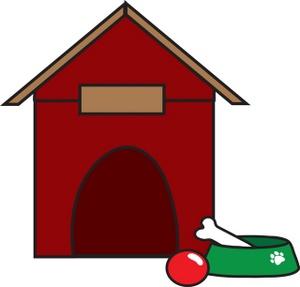 Dog House Clip Art Images Dog House Stock Photos Clipart Dog House