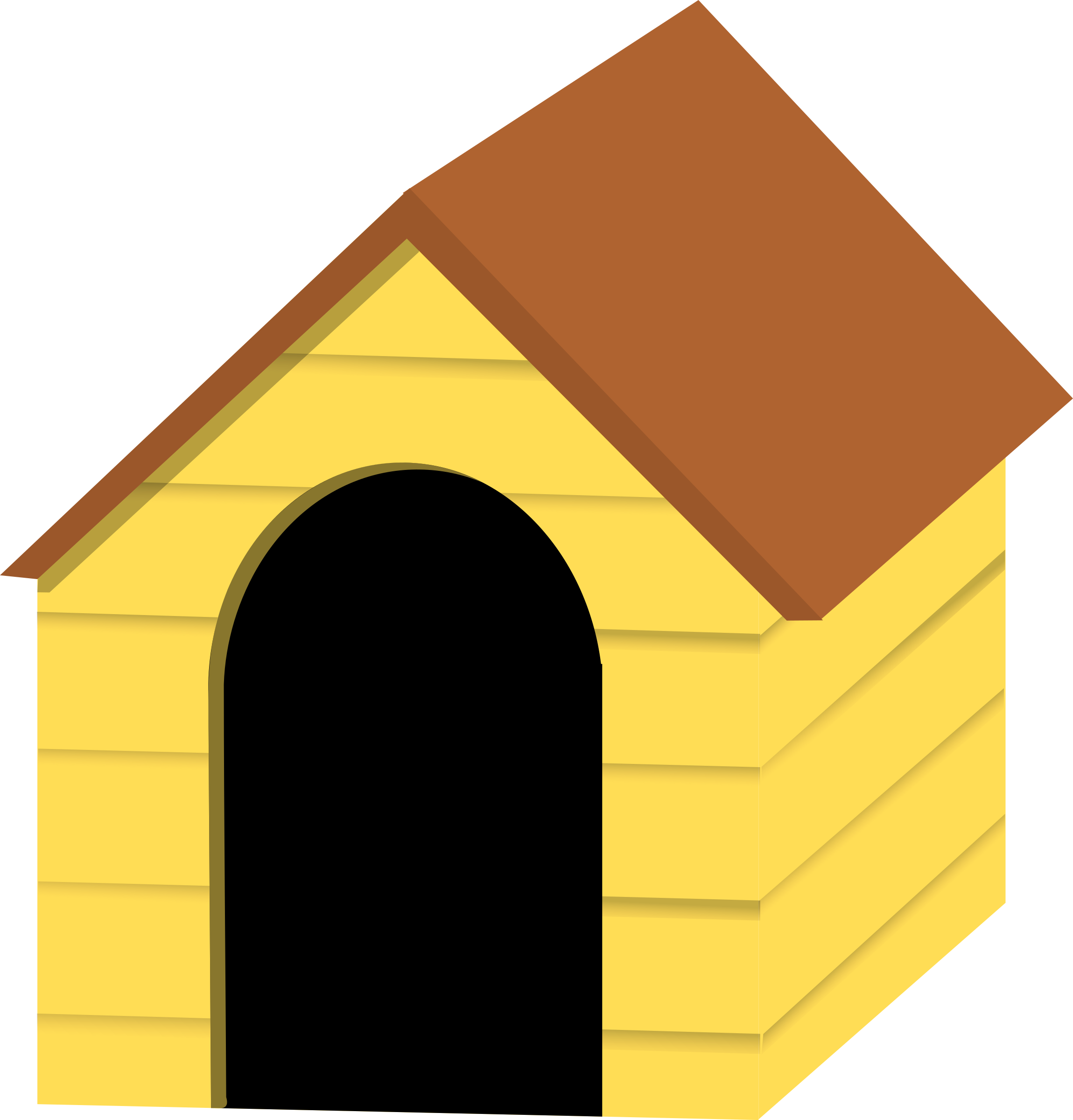 ... Dog House Clipart - clipartall ...
