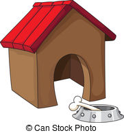 ... dog house - illustration of a dog house