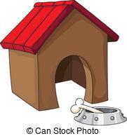 ... Dog House - Illustration Of A Dog Ho-... dog house - illustration of a dog house-12