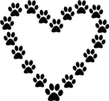 Dog Paw Clip Art Print Free Downloadamazoncom Clipart - Free Clip Art Images