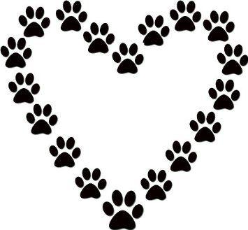 Dog Paw Clip Art Print Free Downloadamazoncom Clipart - Free Clip Art Images