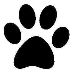 dog paw print clip art | paw-prints-clipart-paw.gif