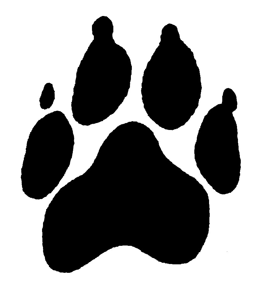 Dog Paw Prints Free Clip Art-Dog paw prints free clip art-12