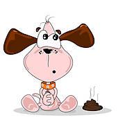Dog Poop Bag U0026middot; Cartoon Dog An-Dog Poop Bag u0026middot; Cartoon dog and poo-4